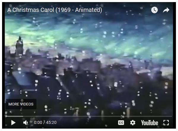 christmas carol start